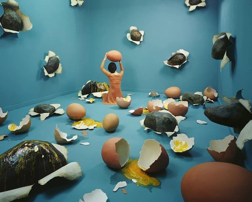 Гигантские куриные яйца