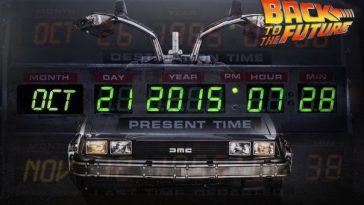 Назад в будущее 21 октября 2015 год