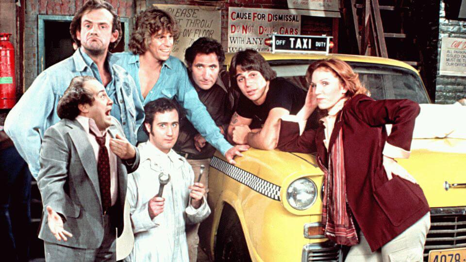 Сериалы. «Такси»