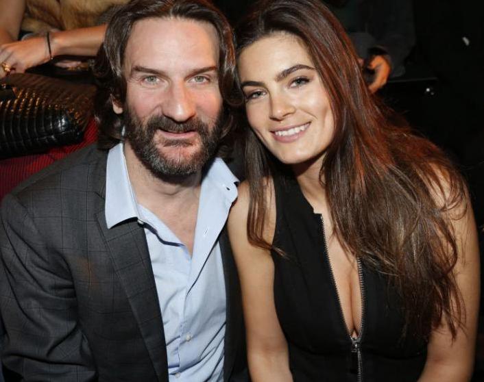 Бегбедер с женой