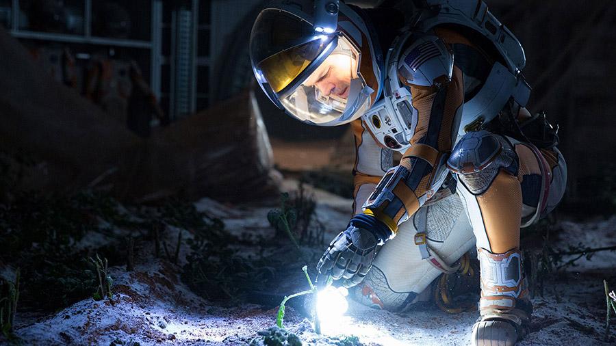 Марсианин (фильмы про космос)