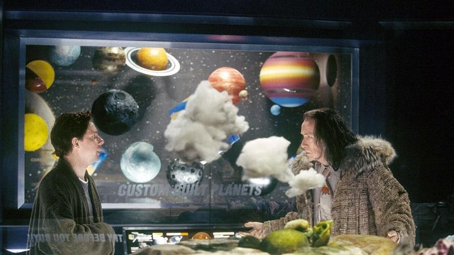 Кадр из фильма «Автостопом по Галактике»