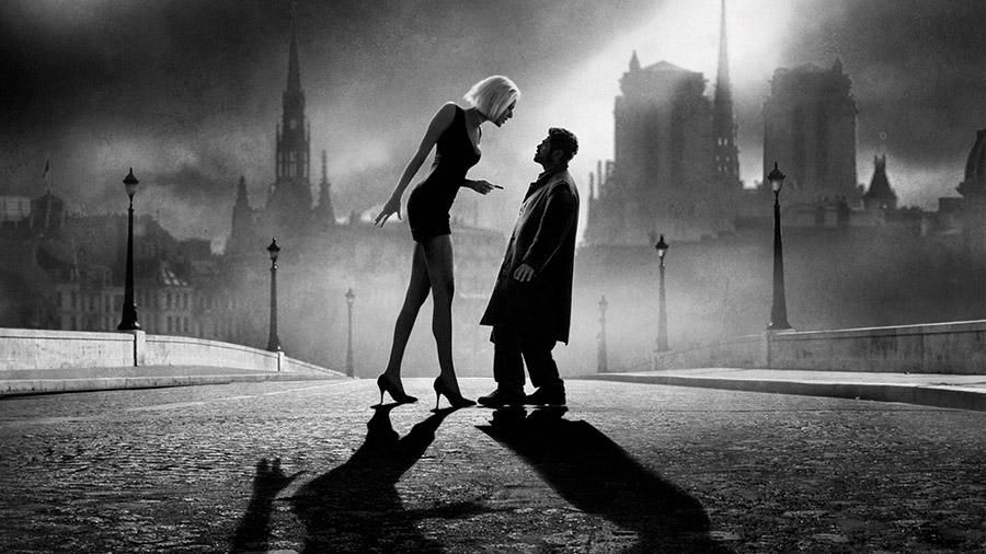 Черно-белый фильм «Ангел-А»