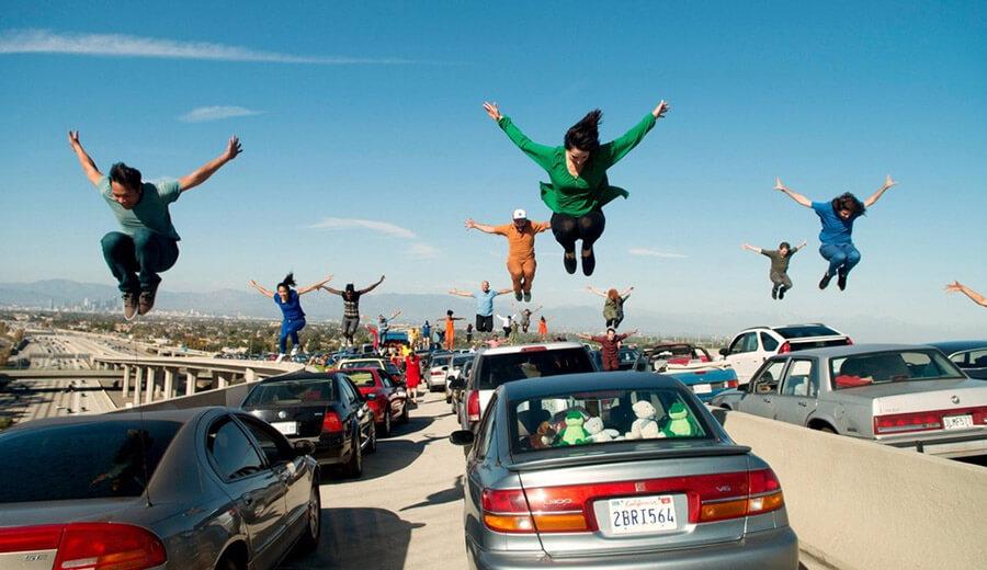 «Ла-Ла Ленд», танцы на автомобилях