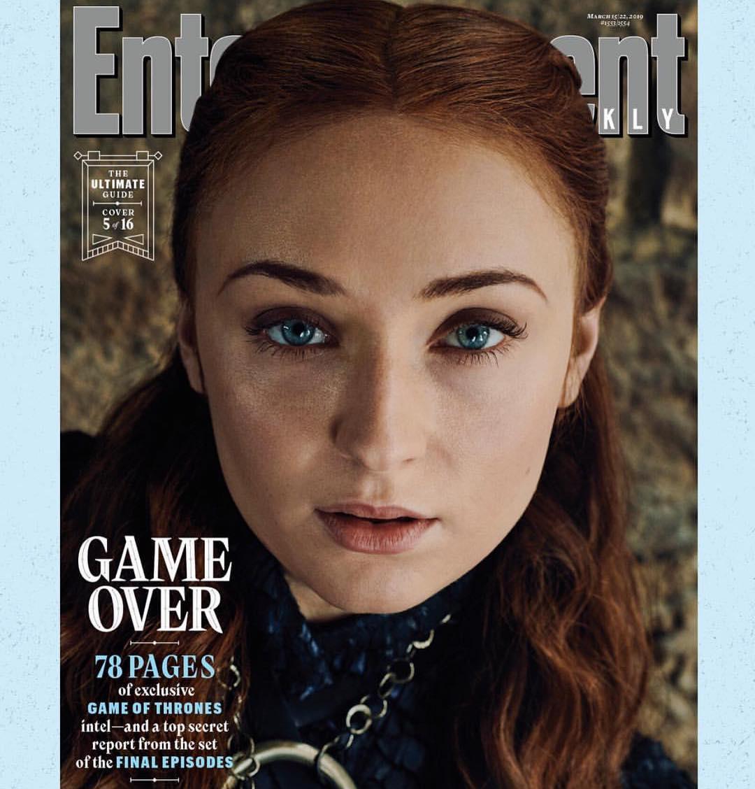 Герои финального сезона «Игры престолов» на обложке Entertainment Weekly