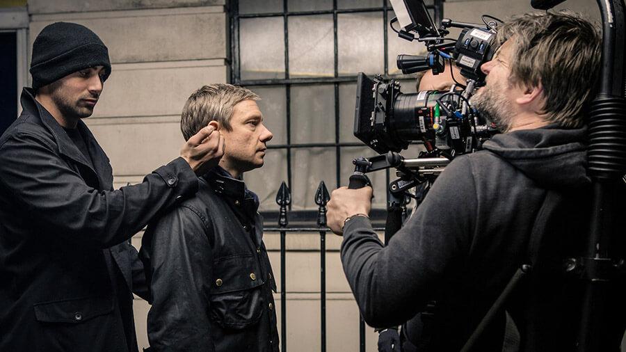 Сериал Шерлок за кадром