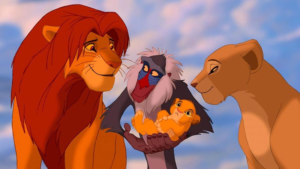 Лучшие мультфильмы. Король лев