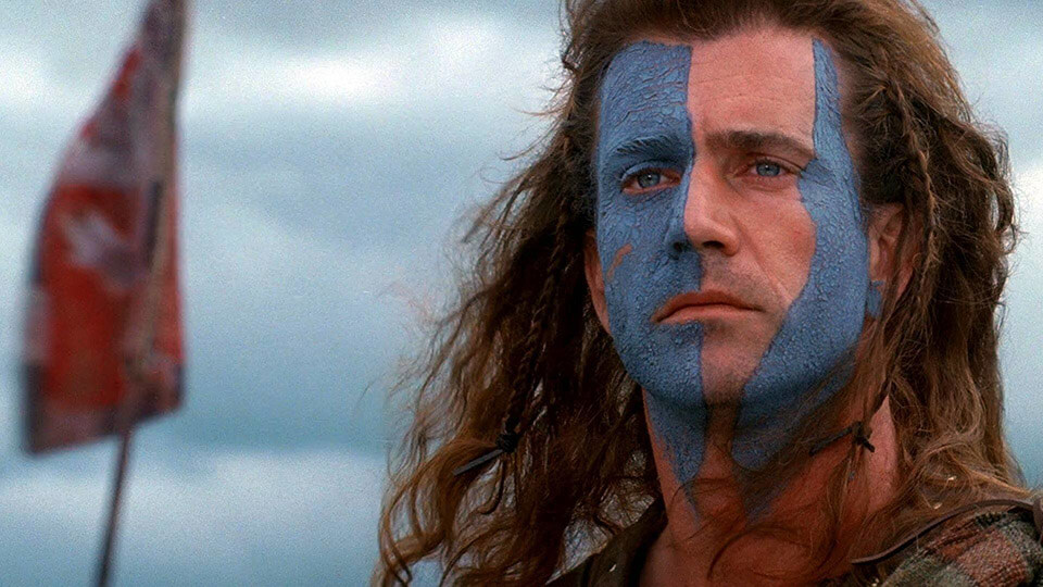 Фильмы 90х. Храброе сердце