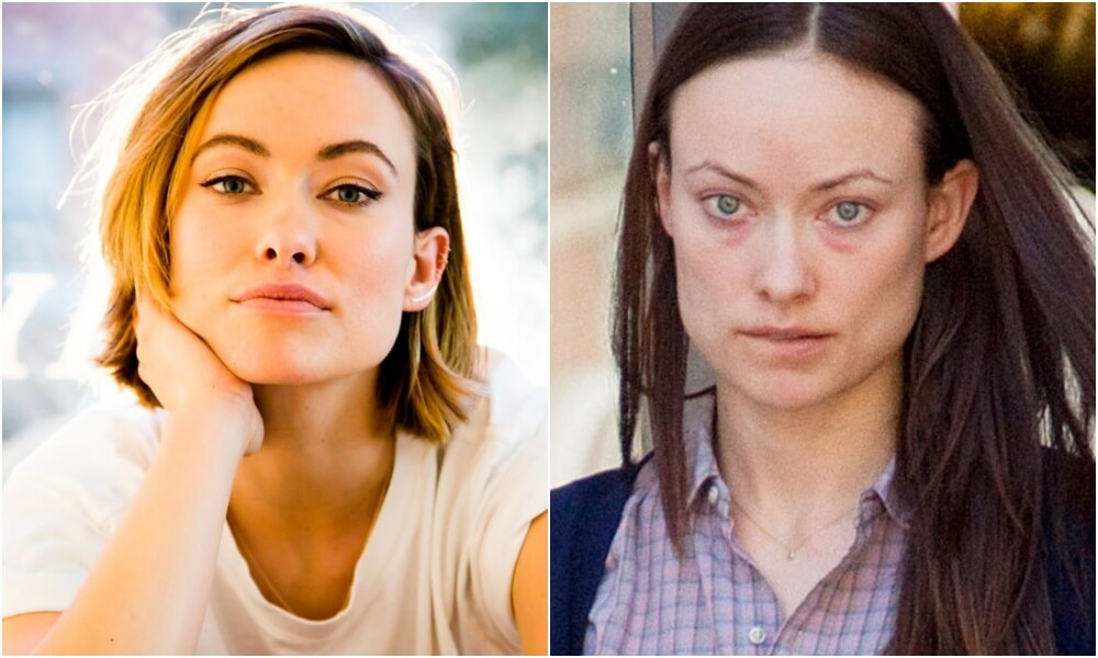 Оливия Уайлд без макияжа