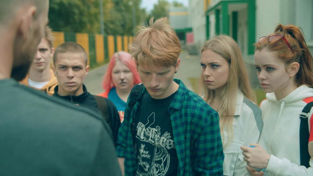 Русские сериалы. Трудные подростки